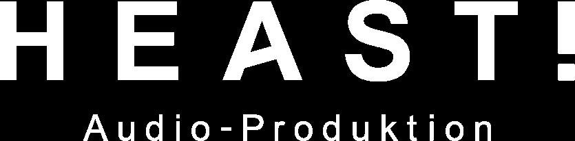 HEAST! Audio-Produktion Logo
