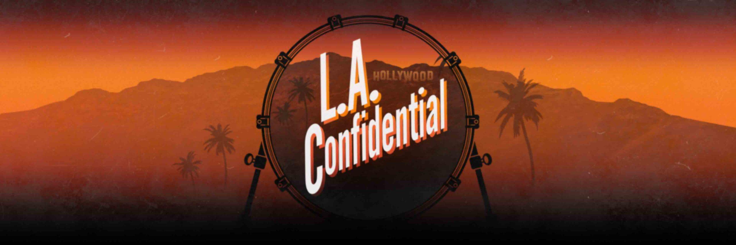 L.A. Confidential Drumlibrary IK Multimedia Coverart