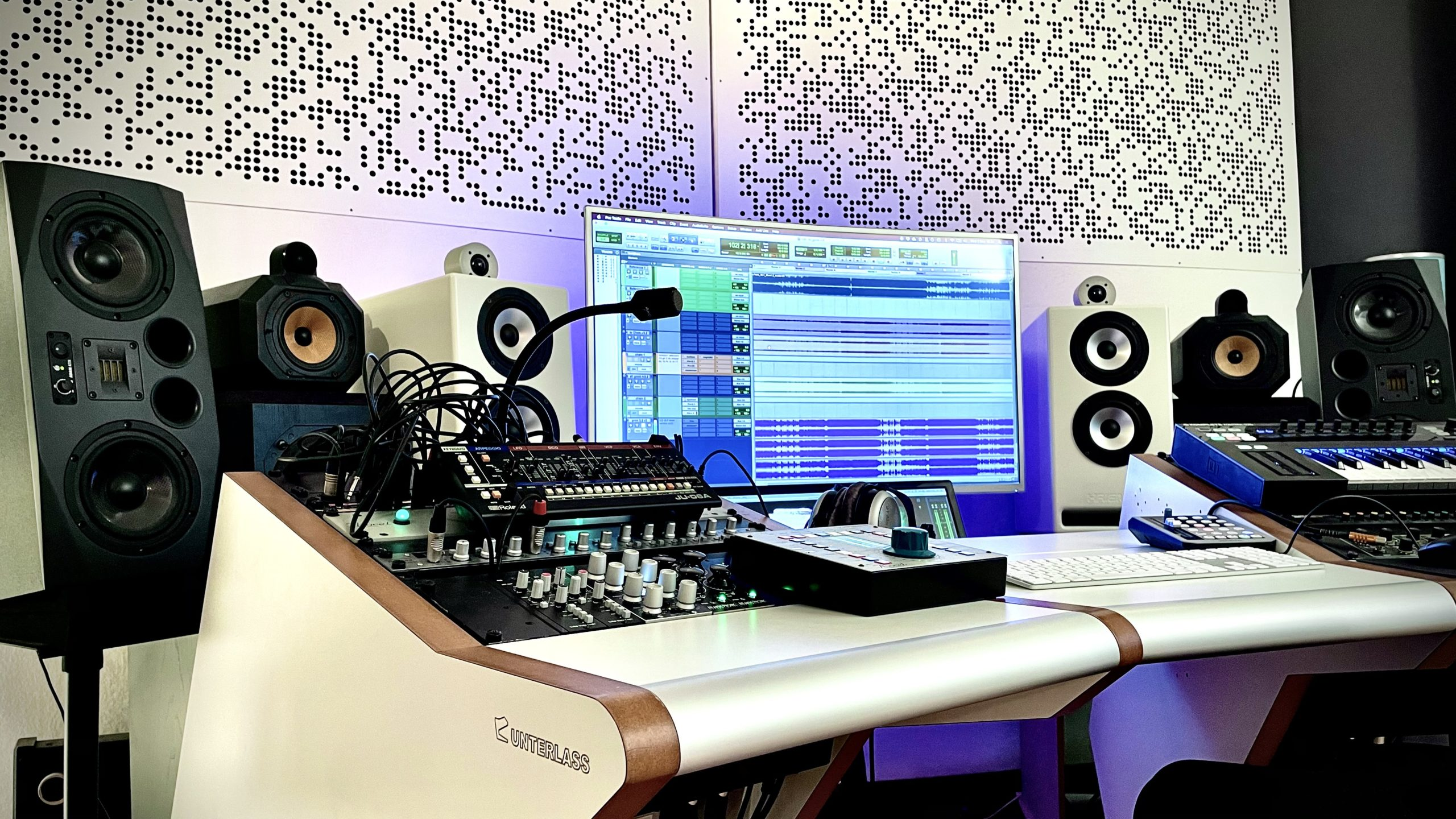 Audio-Produktions Setup von HEAST! Bild 1